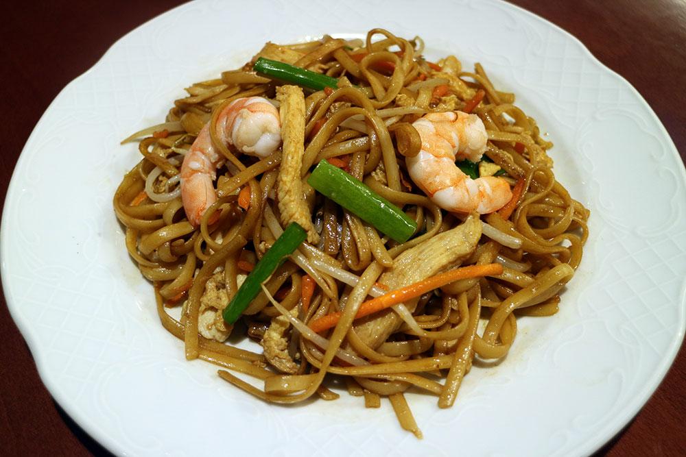 Tallarines tres delicias restaurante china city